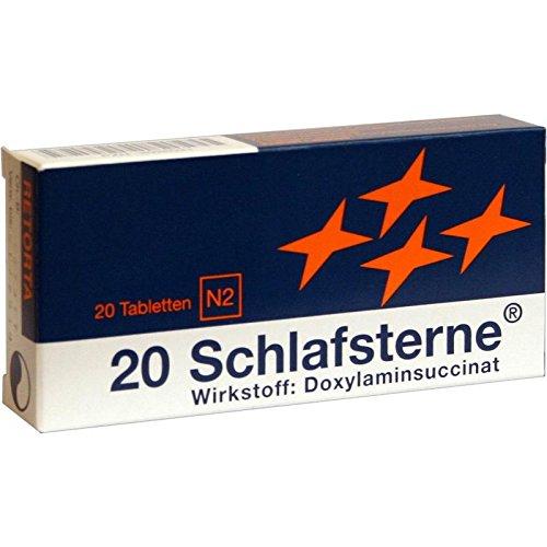 Schlafsterne 30mg 20 stk (Talkum-pulver)