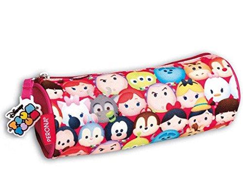 Montichelvo 599386031 – Portatodo Tsum Tsum Disney Cotton cilindrico