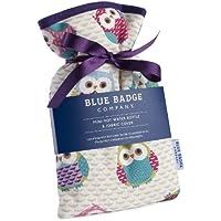 Blue Badge Company Mini-Wärmflasche, Eulen-Design, Kordelzug und gepolsterter Bezug preisvergleich bei billige-tabletten.eu