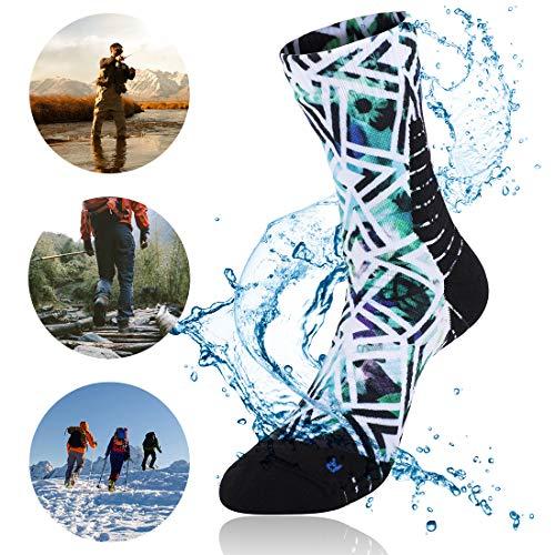 wasserdichte Ultraleichte Atmungsaktive Socken für Männer und Frauen Unisex Sport Klettern Trekking Wandern Camping Angeln Socken