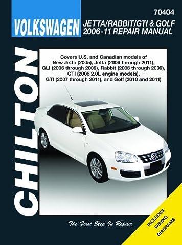 Volkswagen Jetta/Rabbit/GTI & Golf 2006-11: Does not include 2005 Jetta (based on the A4 platform) or 2006 1.8L GTI models, 2011 2.0L 8-valve Sedan ... R32 models (Haynes Automotive Repair Manuals) by Editors Of Haynes Manuals,Editors of Haynes Manuals Jeff Killingsworth (2012-08-02)