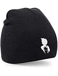 Taurus Dragon Ball Z Embroidered Black Beanie Gaming Gamers Unisex