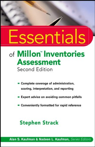 Essentials of Millon Inventories Assessment (Essentials of Psychological Assessment)