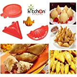Kitchen Khajana™ 4 Piece Mould Of Samosa/Kachori/Ghughra/Modak