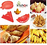 #8: Kitchen Khajana™ 4 piece mould of Samosa/Kachori/Ghughra/Modak