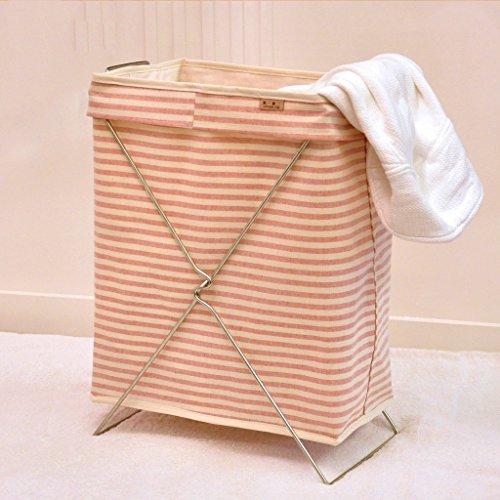 LU Imperméable pliable panier de linge de vêtements tissu de jouets grand panier de stockage (taille : Carré)