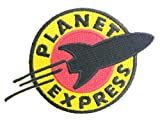 FUTURAMA Planet Express Iron on Sew On Applique Embroidered Thermocollants Ecusson brode patche Patch 11cm