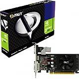Palit NEAT610LHD06F GeForce GT 610 Grafikkarte (PCI-e, 1GB GDDR3, DVI, HDMI, CRT, 1x GPU)