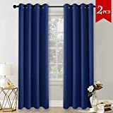 Best Home Fashion Curtain Rods - Eyelet Thermal Blackout Curtains Panels - PONYDANCE Top Review