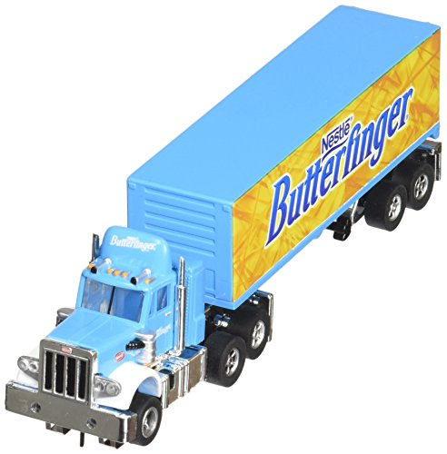 new-auto-world-nestle-butterfinger-racig-rigs-semi-truck-trailer-ho-electric-slot-car-by-auto-world