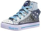 Skechers ShufflesRock n' Beauty, Mädchen Sneakers, Blau (DNTQ), 28 EU