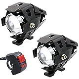 gzcrdz 23000LM CREE U5LED Lampe Nebel Licht Scheinwerfer Spot für Motorrad/ATV/Truck W/ON/OFF Schalter Knopf
