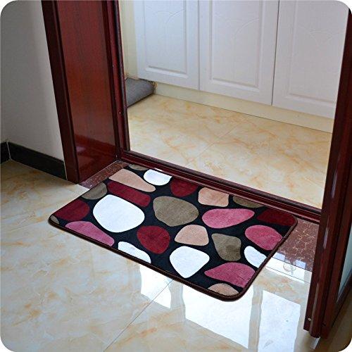 Preisvergleich Produktbild HOOM-Fußmatte Küche Schlafzimmer Home mat Absorbierend Rutschfest, 50 cm*80 cm, C