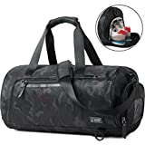 Gym Bag Holdall Sport Duffel with Shoes Compartment Review and Comparison
