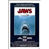 Movie Posters Direct - Póster, diseño del cartel de la película Tiburón en inglés