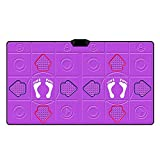 XIONGG Dance Mat, Thickening Soundproofing Baby Early Education Portable Dancing Pads, Double Non-Slip Yoga Run Mat Game Mat,2