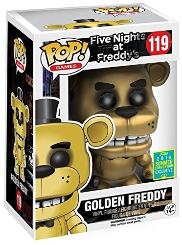 Five Nights At Freddy's Golden Freddy Vinyl Figure 119 Collector's figure Standard