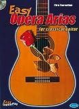 Easy opéra arias for classical guitar +CD