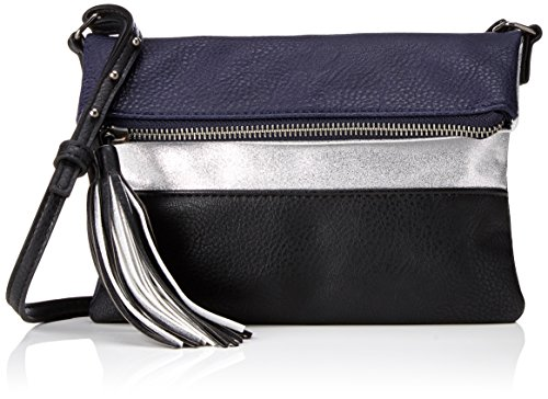 PIECES - Pcjina Cross Body, Borse a tracolla Donna Nero (Black)