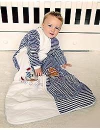 Schlummersack Kinder Winter Schlafsack Langarm 3.5 Tog - Pirat - erhältlich in verschiedenen Grössen: ab 12 Monate bis 10 Jahre