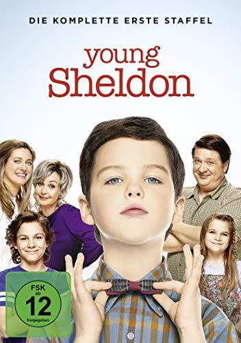 Young Sheldon: Die komplette 1. Staffel [DVD] - Big-bang-dvd-staffel 1