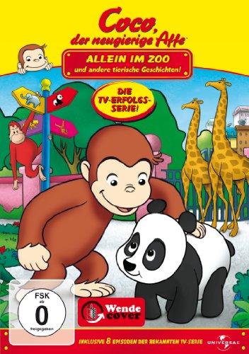 Coco, der neugierige Affe - Allein im Zoo und andere tierische Geschichten - Kind Neugierig