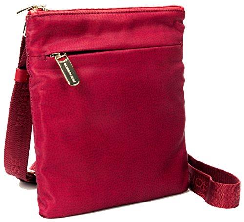 Borsa postina Borbonese TRACOLLA SMALL JET O.P DETTAGLI CUOIO Rosso Women Bag