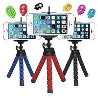 Ally Mobile 27032 Mini Tripod Selfie Masa Üstü Stand + Bluetooth Kumanda Siyah