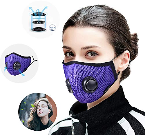 Mascarilla Anticontaminacion Mascara Polvo Filtro