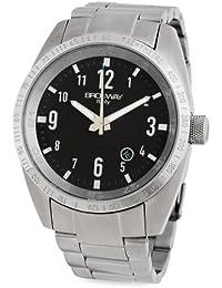 Brosway Collection BD05 - Reloj de caballero de cuarzo, correa de acero inoxidable color plata