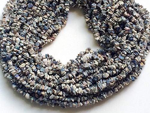 GEMS-WORLD BEADS GEMSTONE 1 Strand Natural Australian Opal Chips, Tiffany Opal Chips, Tiffany Opal Beads, Tiffany Opal Necklace, 4-6mm, 32 Inch