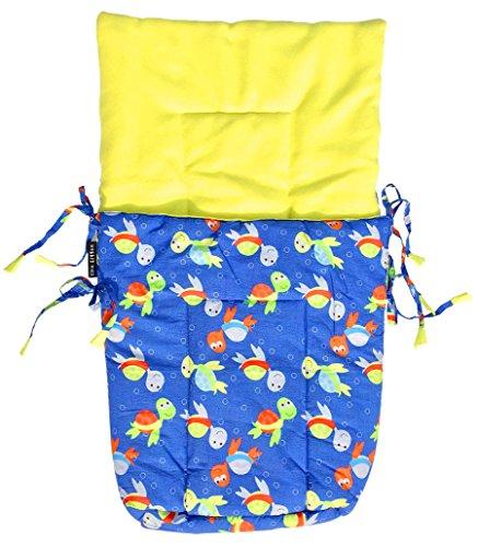 Wobbly Walk Turtle Print Baby Sleeping Bag