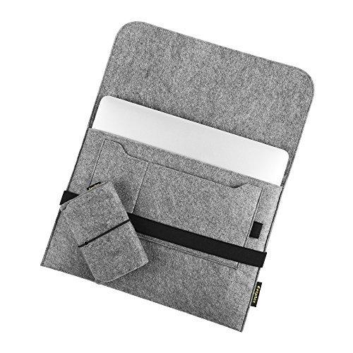 51mFhvn7WoL - [Amazon.de] EasyAcc 13.3 Zoll Filz Hülle für MacBook für nur 10.99€