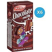 Kdd Chocolate Milk , 180 ml x 6