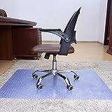 Lililili Anti-Rutsch-Matte, Vinyl-Stuhl-Matte (PVC) Für Teppich, Bürostuhl Matte Für Teppich, Stuhl Teppich Robust Und Verschleißfest,90*120*0.2Cm