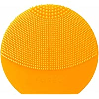Foreo Luna Play Plus Cepillo Facial Recargable con Pilas Recambiables, Sunflower Yellow