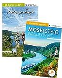 Moselsteig & Seitensprünge Geschenk-Set: Die schönsten Strecken- und Rundwege an der Mosel: Mit Faltkarten, GPS und Mobil-Anbindung - 2 Bände, 38 Touren