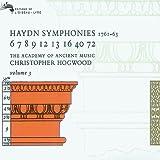 Haydn  :Symphonies n° 6, 7, 8, 9, 12, 13, 16, 40, 72 - vol. 3