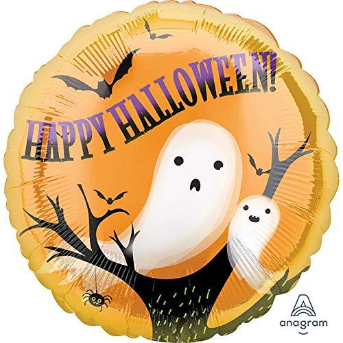 Unbekannt Anagram Halloween-Folienballon, rund, 46 cm (Einheitsgröße) (Geister)
