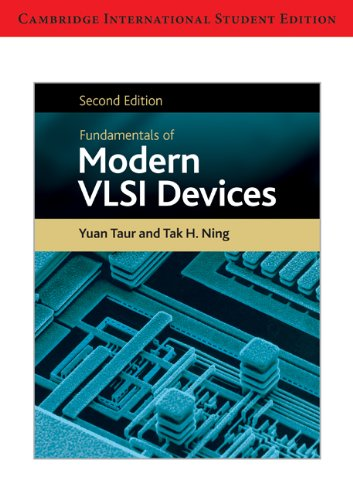 Fundamentals of Modern VLSI Devices International Student Edition PDF Books