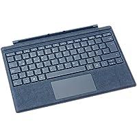 Microsoft Surface Pro Signature Type Cover (Kompatibel mit Surface Pro/Pro 4/Pro 3, LED-Hintergrundbeleuchtung) kobalt blau(Qwertz tastatur)