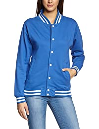 Coole-Fun-T-Shirts Jacke College - Blouson - Mixte