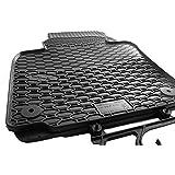 Gummi Automatten VW Golf VII 7 5G Original Qualität Gummimatten Fußmatten 4.teilig - schwarz