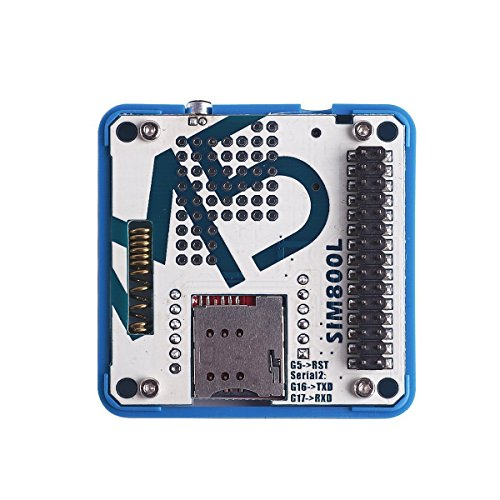 DollaTek M5 ESP32 Entwicklungsboard GSM/GPRS SIM800L Modul Stackable IoT mit MIC, Antenne und 3,5 mm Kopfhörerbuchse für ESP32 Arduino Development Board Gsm-modul