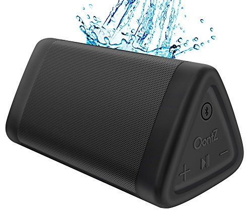OontZ Angle 3, tragbarer Bluetooth Lautsprecher: Lauter Volumen 10W Power, mehr Bass, IPX5 Wasserdicht, Perfekter kabelloser Lautsprecher für Home Travel Beach Shower Spritzwassergeschützt, von Cambridge SoundWorks (Schwarz)