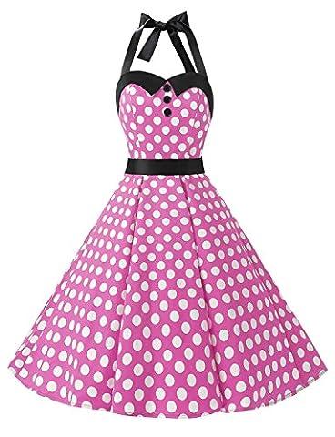 Audrey Hepburn Costumes - Dressystar DS1957 Robe de bal Polka Vintage