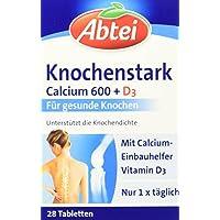 Abtei Knochenstark Calcium 600 und D3 Tabletten, 1x 28 Stück preisvergleich bei billige-tabletten.eu