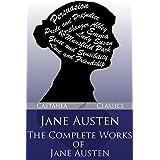 Jane Austen: The Complete Works of Jane Austen (English Edition)