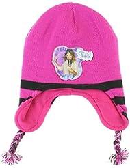 Bonnet peruvien Violetta en acrylique Fille