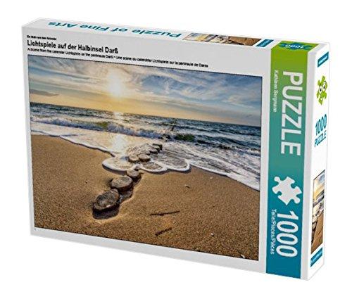Preisvergleich Produktbild Ein Motiv aus dem Kalender Lichtspiele auf der Halbinsel Darß 1000 Teile Puzzle quer (CALVENDO Natur)